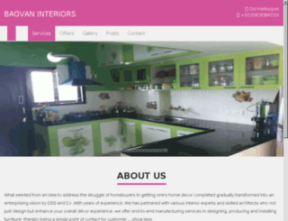bagvaninteriors.com screenshot