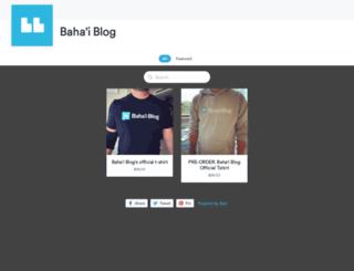 bahaiblog.selz.com screenshot