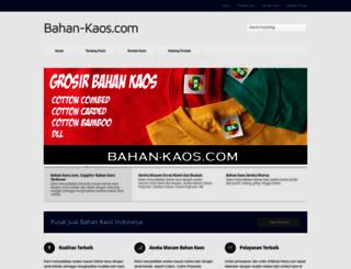 bahan-kaos.com screenshot