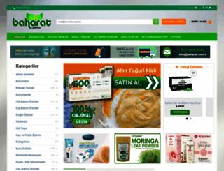 baharat.com.tr screenshot