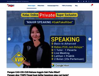 bahasainggris.net screenshot