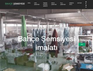 bahcesemsiyesi.com screenshot