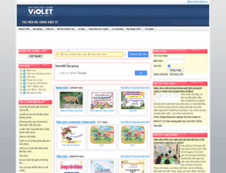 baigiang.violet.vn screenshot