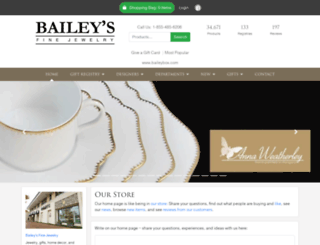 baileys.bridgecatalog.com screenshot