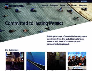 baincapital.com screenshot