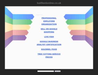 baitfeedonline.co.uk screenshot