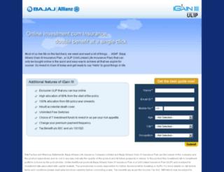 bajajallianz-igain.com screenshot