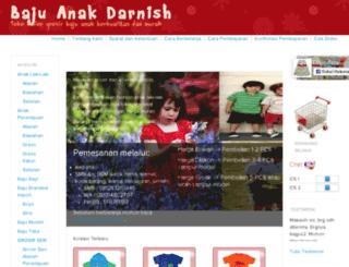 bajuanak-darnish.com screenshot