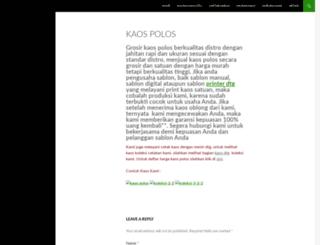 bajukaospolos.com screenshot