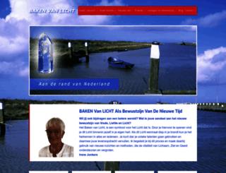 bakenvanlicht.nl screenshot