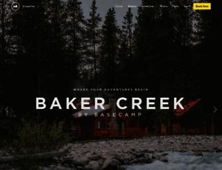 bakercreek.com screenshot