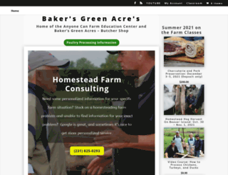 bakersgreenacres.com screenshot