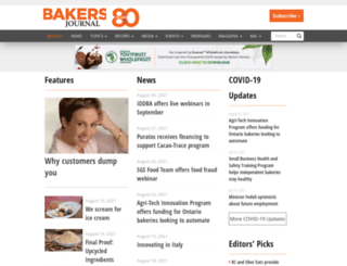 bakersjournal.com screenshot
