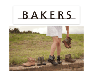 bakersshoes.com screenshot