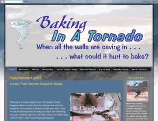 bakinginatornado.com screenshot