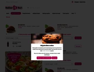 bakkerbart.nl screenshot