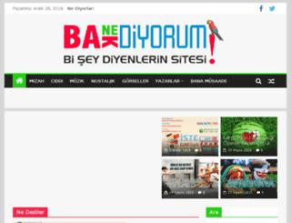baknediyorum.com screenshot
