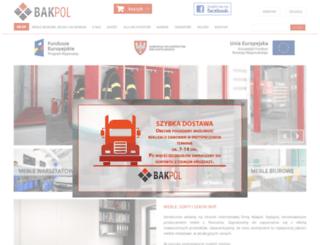 bakpol.pl screenshot
