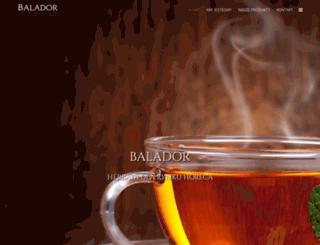 balador.pl screenshot