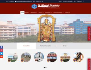 balajisociety.org screenshot