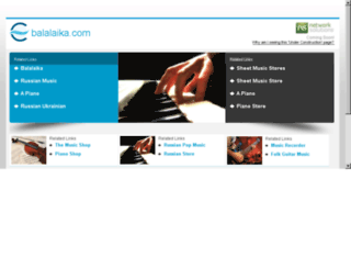 balalaika.com screenshot