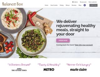 balancebox.com screenshot