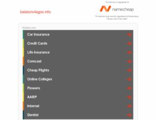 balatonvilagos.info screenshot