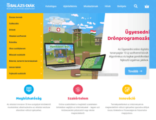 balazs-diak.hu screenshot