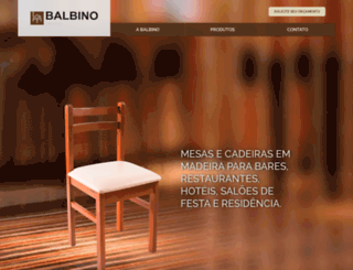 balbinomoveis.com.br screenshot