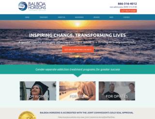 balboahorizons.com screenshot