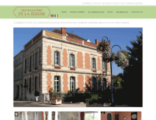 balcons-de-la-seugne.com screenshot