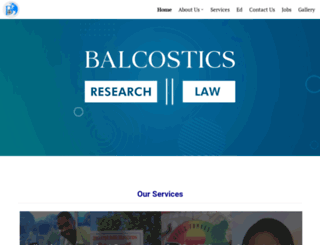 balcostics.wordpress.com screenshot