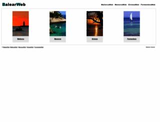 balearweb.com screenshot