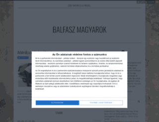balfaszmagyarok.blog.hu screenshot