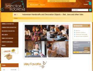 bali-artisanat.com screenshot