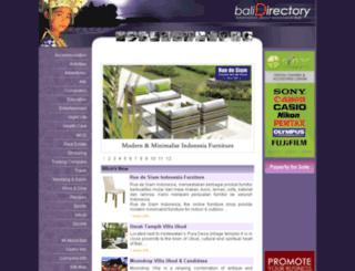 bali-directory.com screenshot