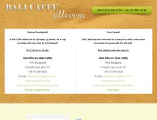 balicaffe.hu screenshot