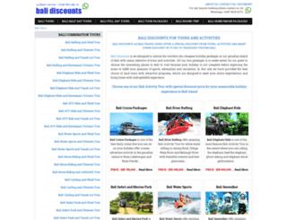 balidiscounts.com screenshot