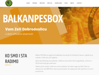 balkanpesbox.com screenshot