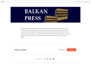 balkanpress.submittable.com screenshot