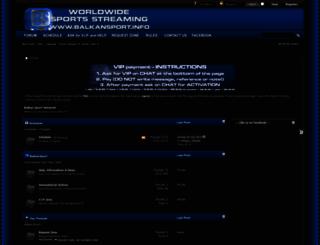 balkansport.info screenshot