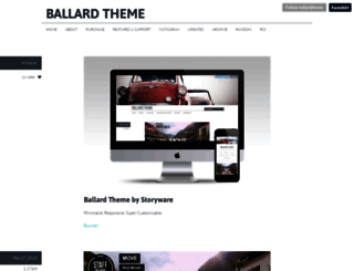ballard.storyware.us screenshot