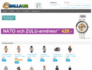 ballaur.se screenshot