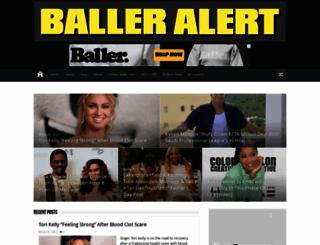 balleralert.com screenshot
