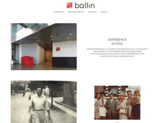 ballin-shoes.it screenshot