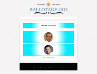 ballotage2015.com screenshot