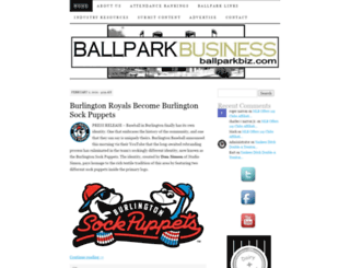 ballparkbiz.wordpress.com screenshot