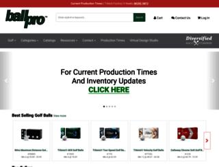 ballpro.com screenshot