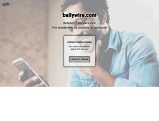 ballywire.com screenshot