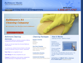 baltimore-maids.com screenshot